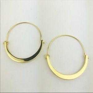 Vince Camuto Tapered Hoop Earrings